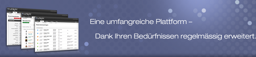 Nunight Management System Funktionen
